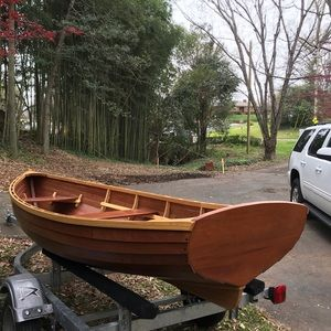 NOT FOR SALE Custom crafted Row Boat-NOT FOR SALE